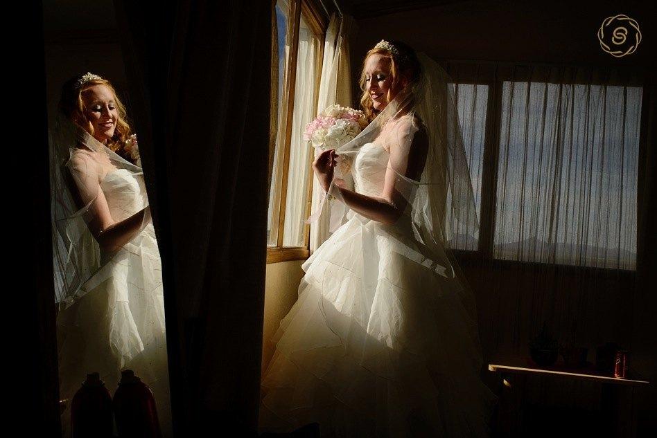 Wedding photographer Bolivia. Hotel Luna Salada