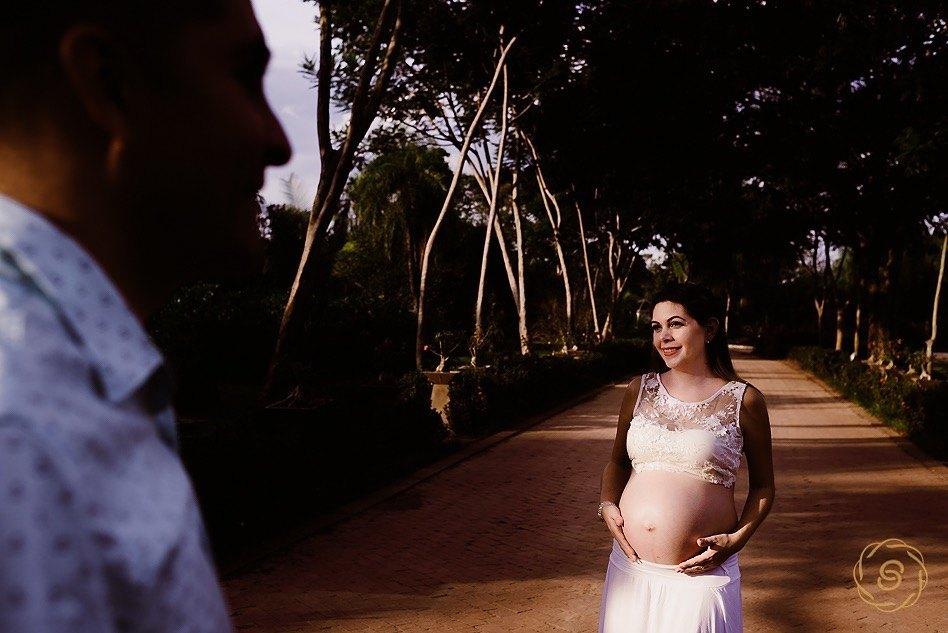Sesión de fotos de embarazo en Santa Cruz