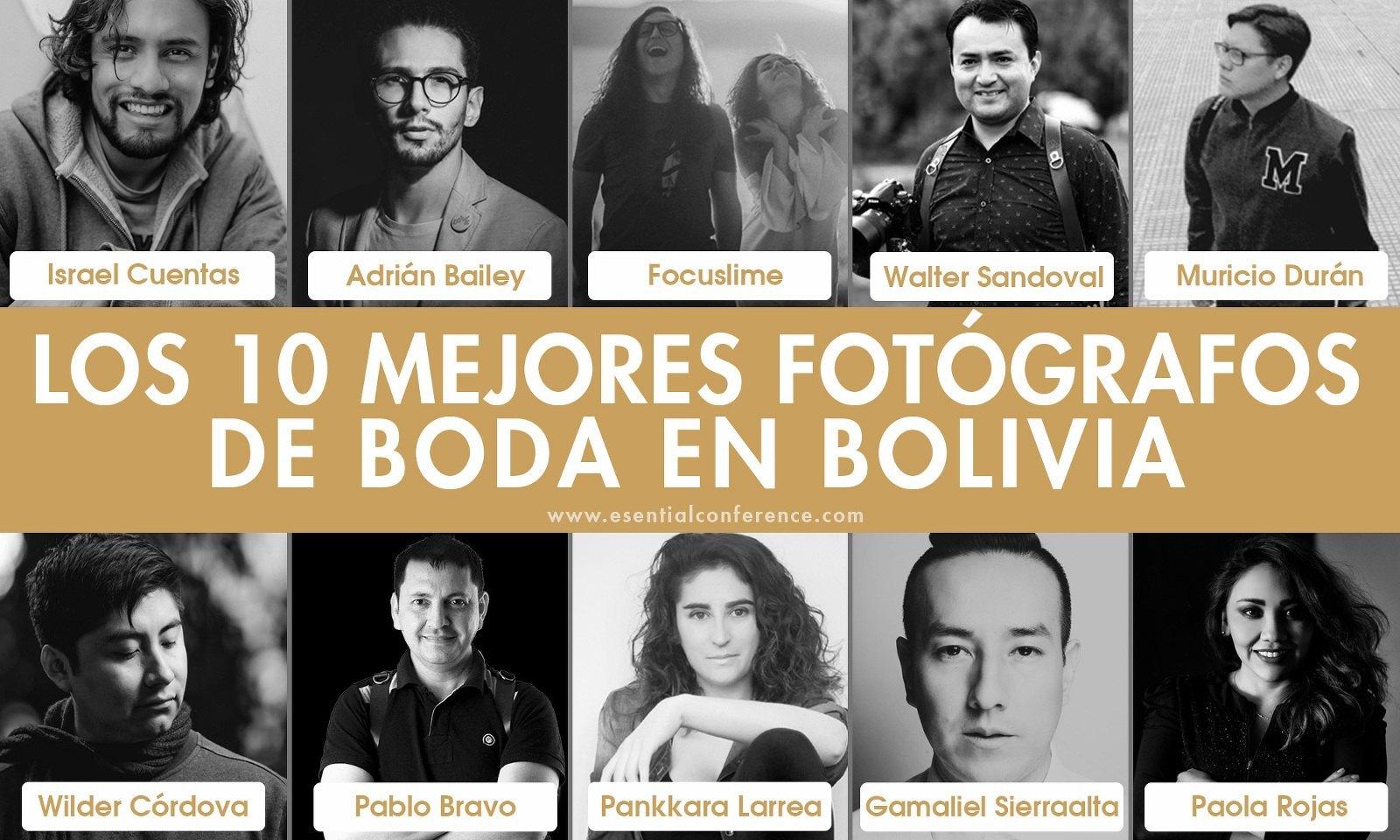 Los mejores fotógrafos de boda en Bolivia